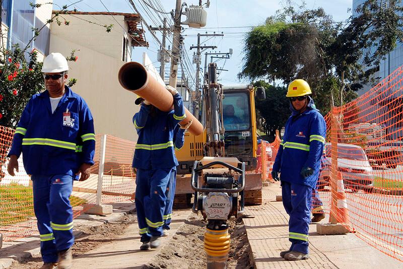 Obras em Guaianases aumentam oferta de água e diminuem perdas