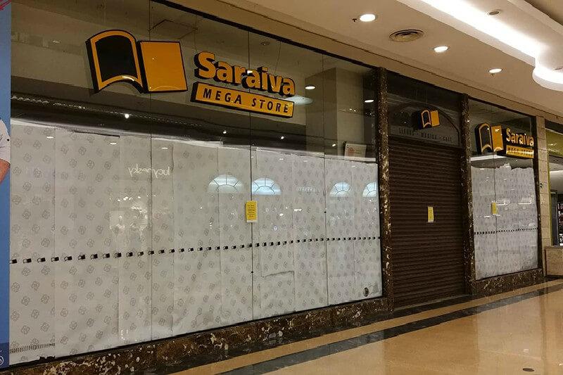 Livraria Saraiva e Cultura fecham maioria de suas lojas