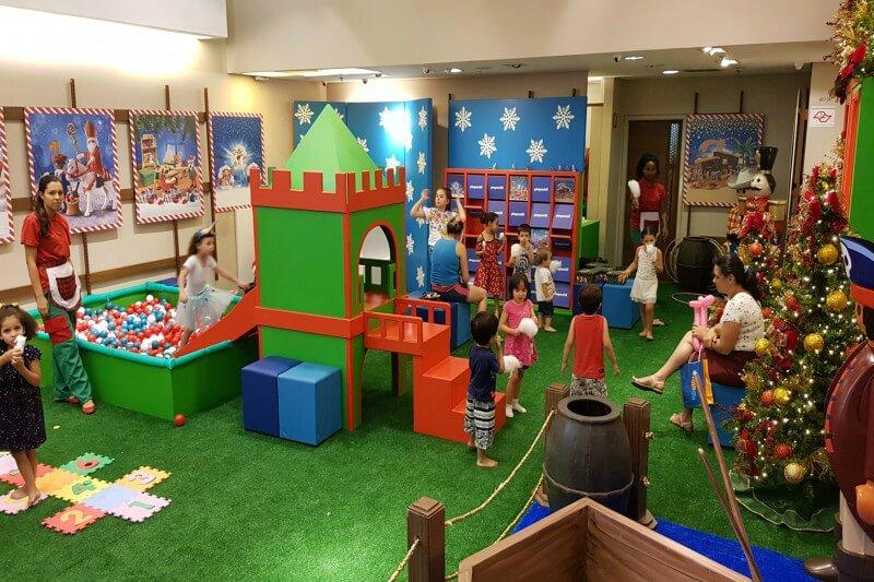 Nova temática do Espaço Kids do Central Plaza Shopping tem Playmobil