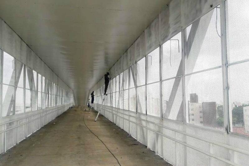 Sub Penha diz que obra de passarela em Itaquera será entregue em março