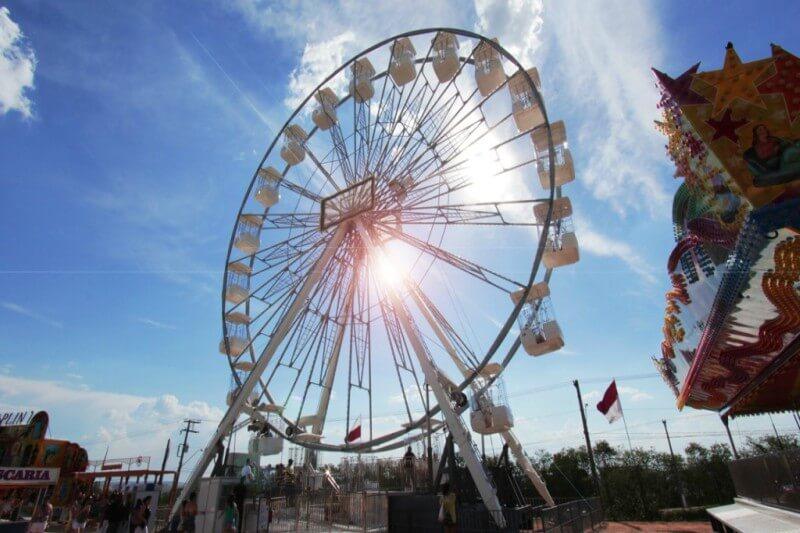 Mooca recebe a Roda Gigante Brasil do Lollapalooza