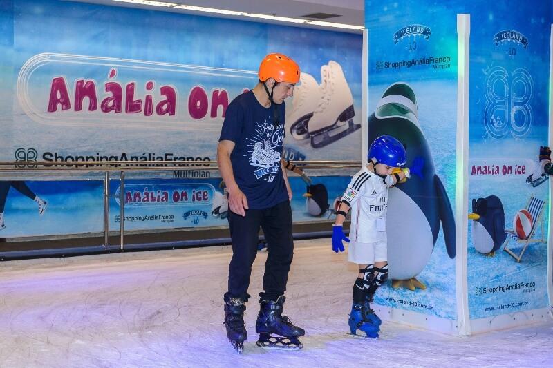 Shopping no Anália Franco recebe pista de patinação - ZLN