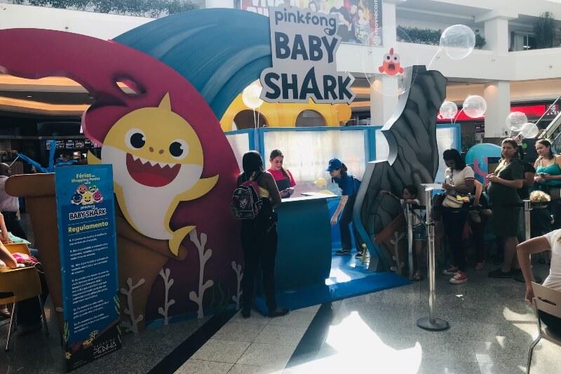 Baby Shark_ atração infantil chega ao Shopping Penha - ZLN