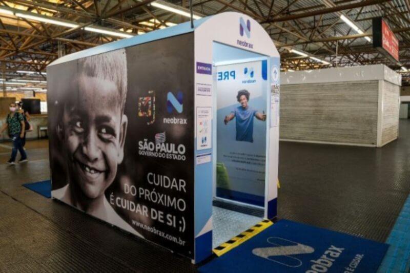 CPTM e Metrô instalam novas cabines de higienização - ZLN