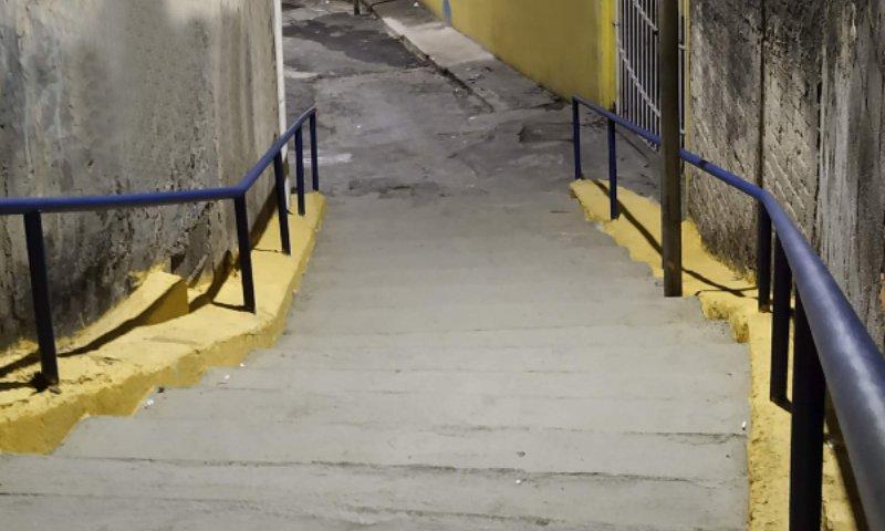 Degraus em cores: campanha propõe revitalização em escadarias do Carrão - ZLN